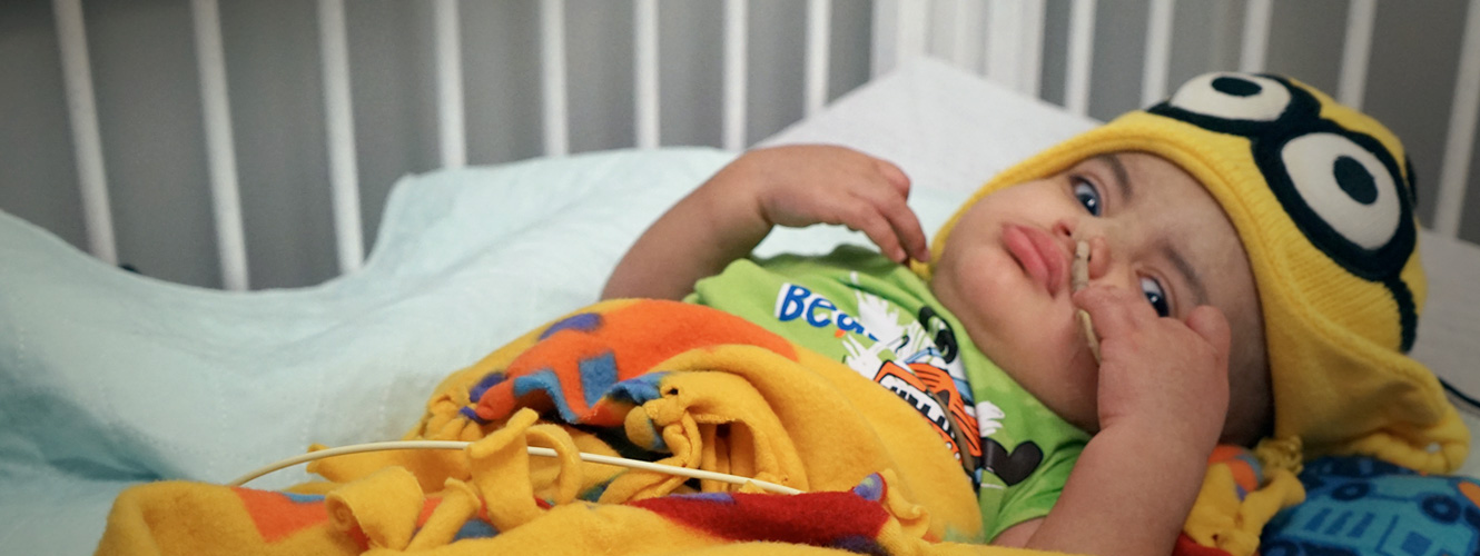 Idabel boy fights for his life