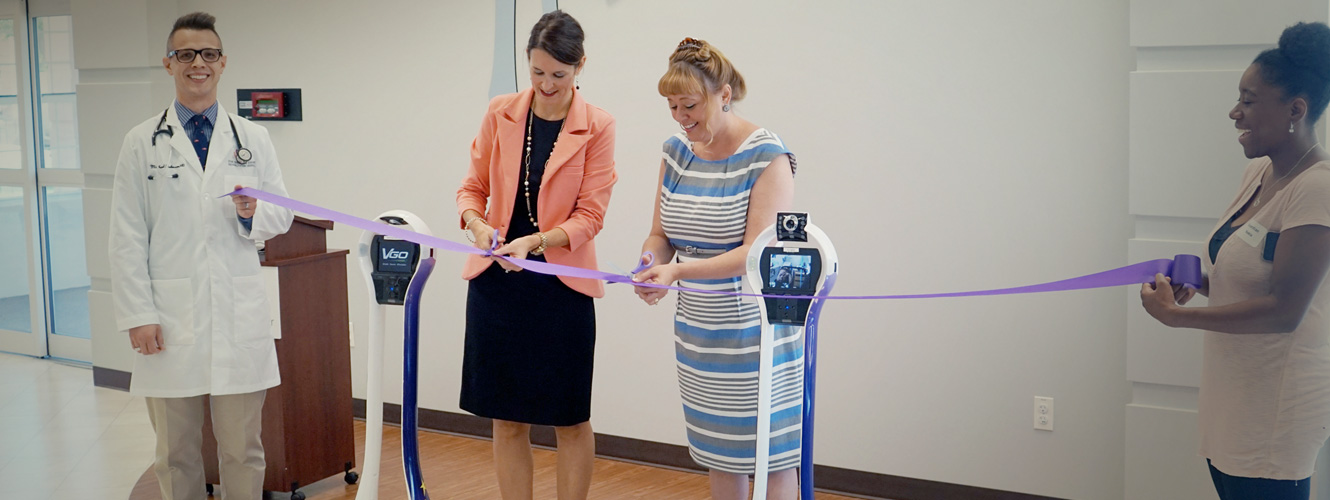 Hospital Receives Two VGo Robots