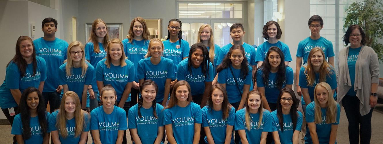 Hospital's VOLUME Summer Program Starts