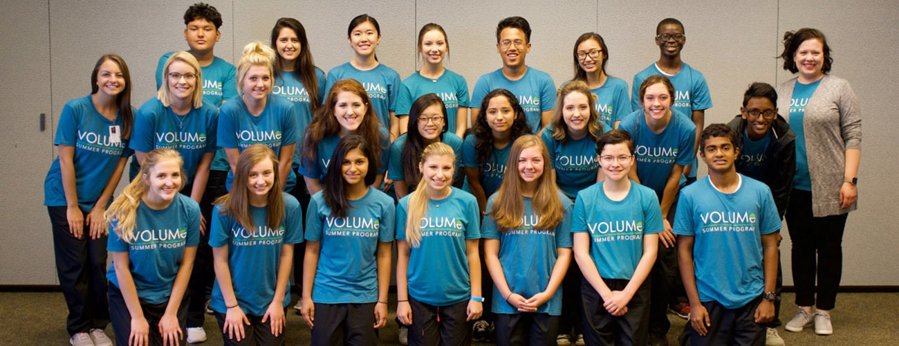 VOLUME Teen Program Announces 2017 Participants