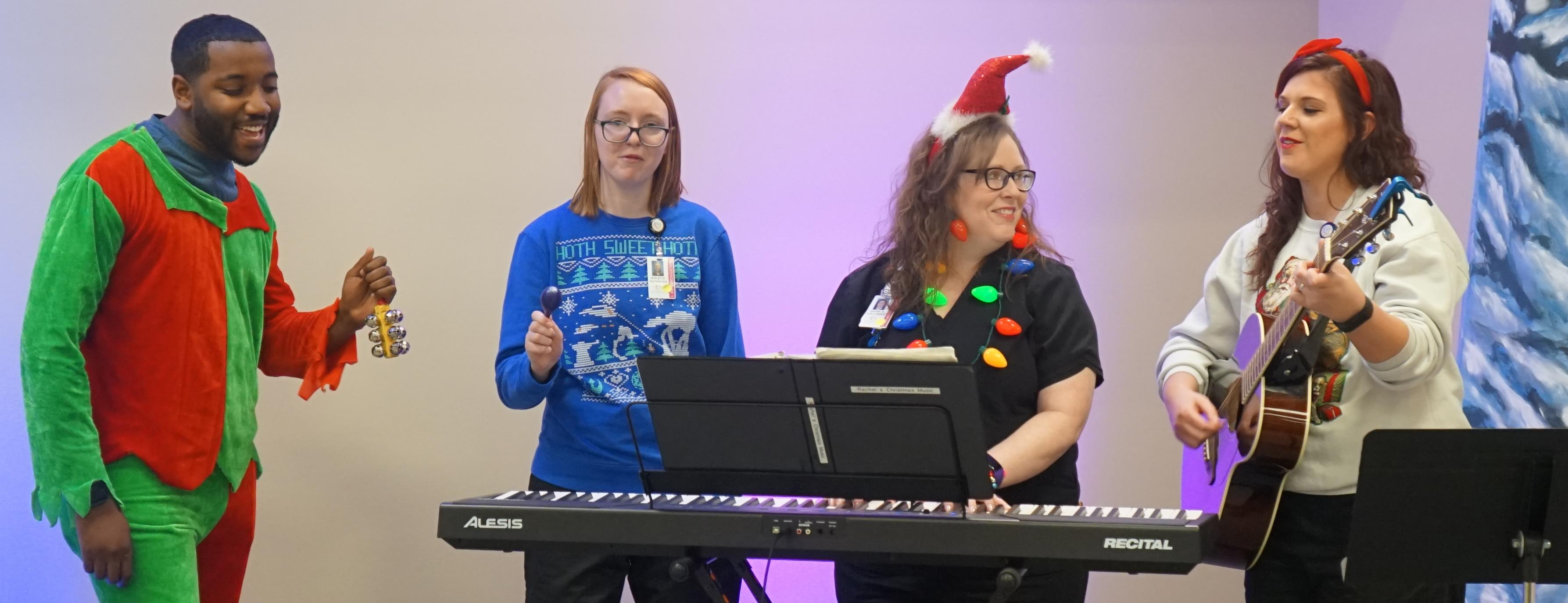 Music Therapy Ushers in the Holidays