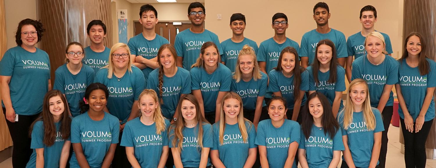 VOLUME Summer Program 2018