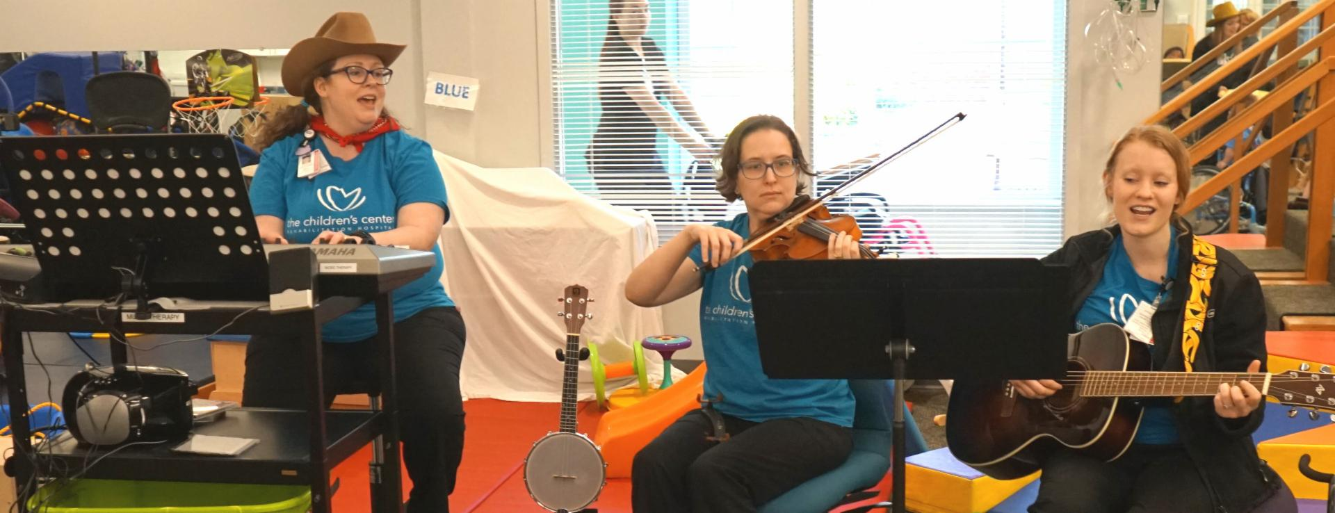 Hospital Music Therapy Program Receives $25,000 Grant