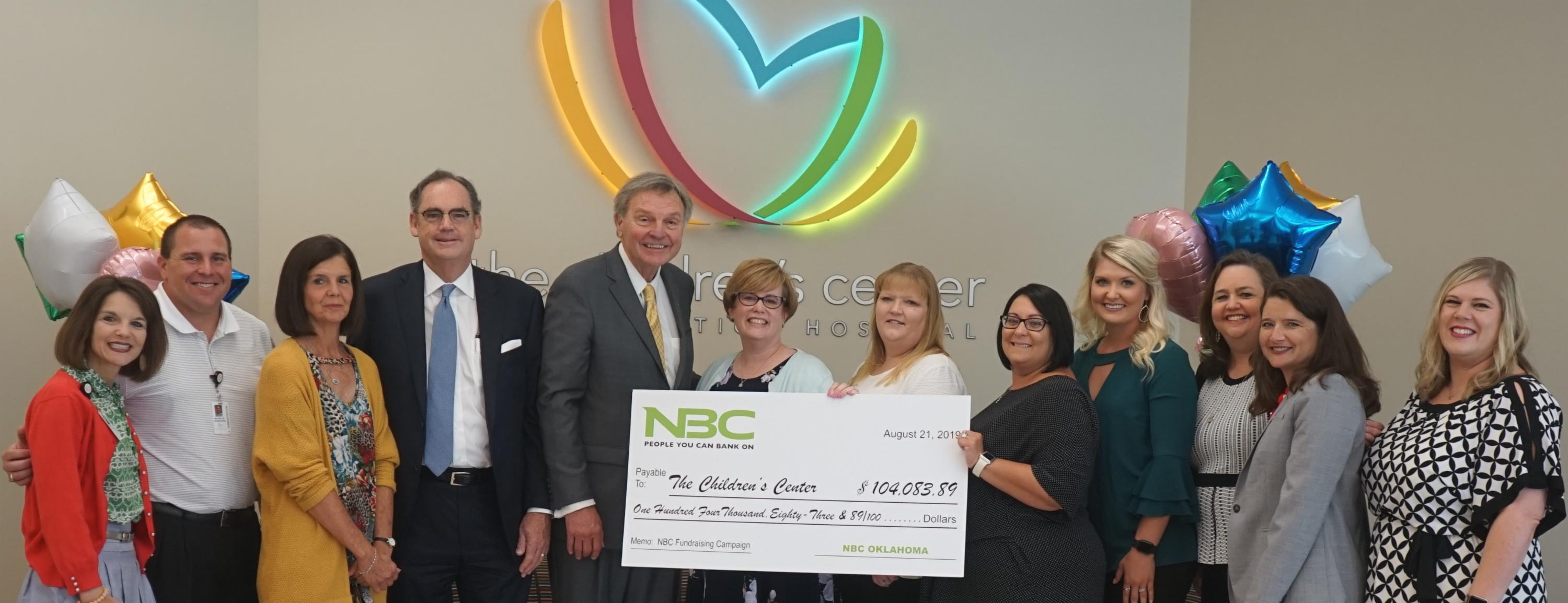 NBC Oklahoma Completes Fundraising Campaign for Hospital