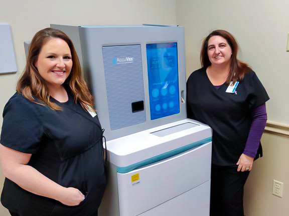 New AccuVax machine streamlines vaccine management