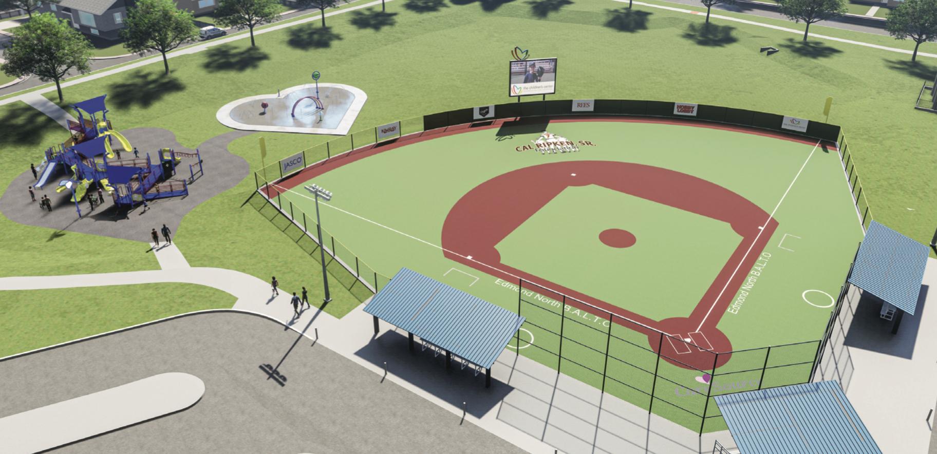 CareSource Oklahoma donates for Adaptive Recreation Field